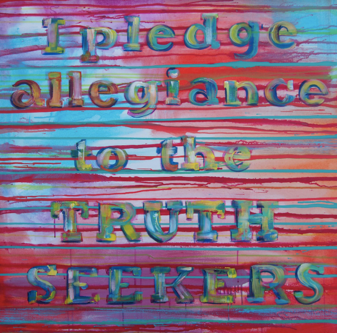 Truth Seekers (2020) • 36 X 36