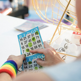 Bingo Rainbow Wrist and Headbands