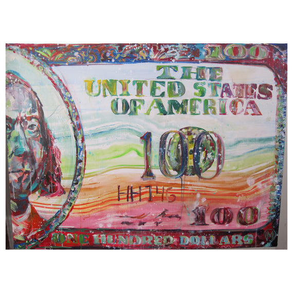 The Color of Money (2012) • 38 x 18