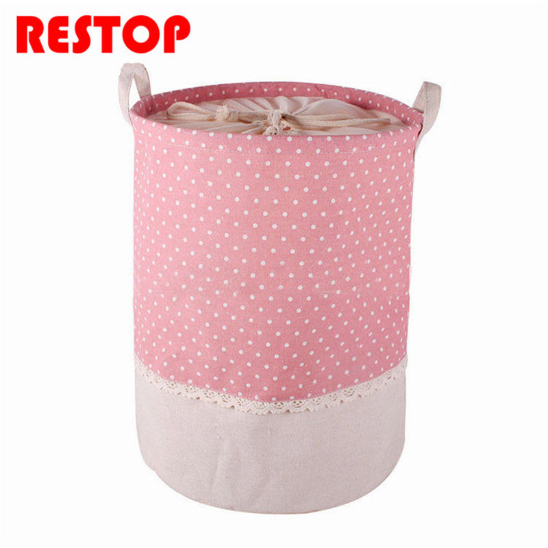 Colorful Laundry Hamper