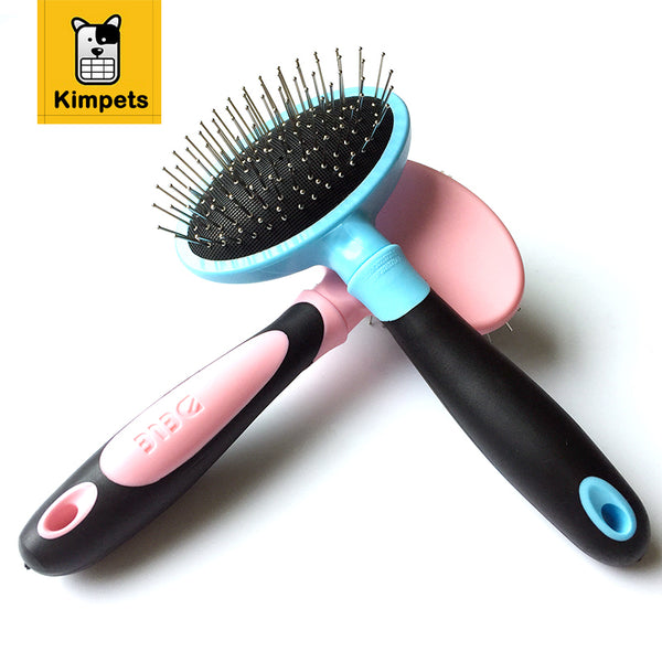 Grooming Brushes and Combs with Massage Head