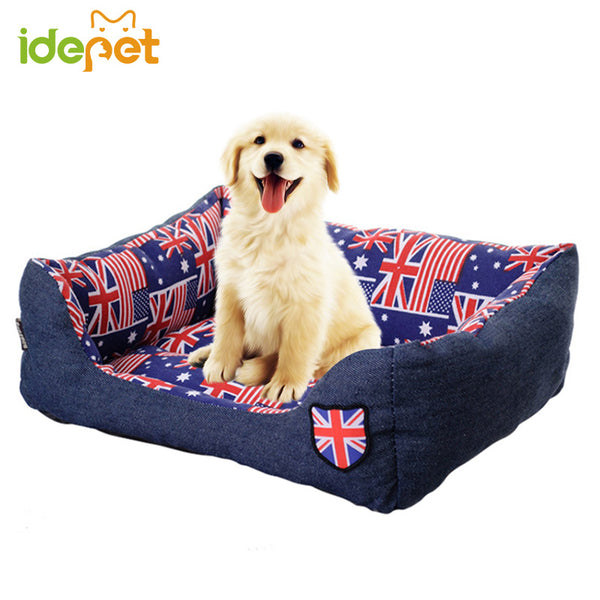 English Flag Pet Bed