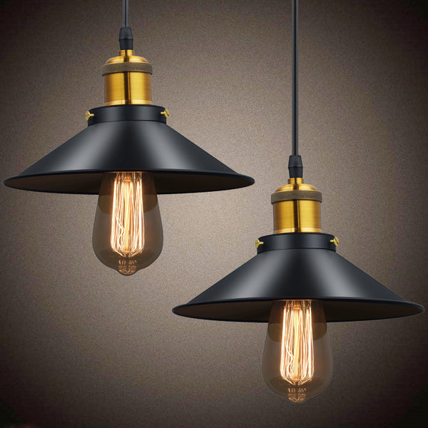 Iron Shade Pendant Light