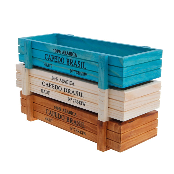 Wooden Multifunctional Storage Box