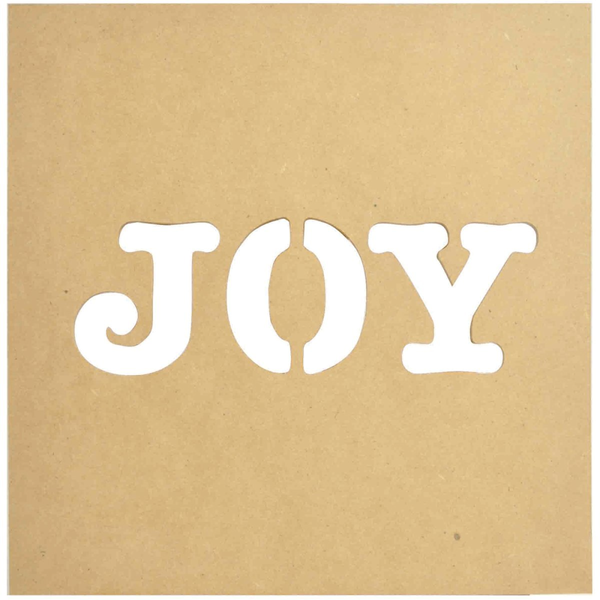 Joy Silhouette Wall Art
