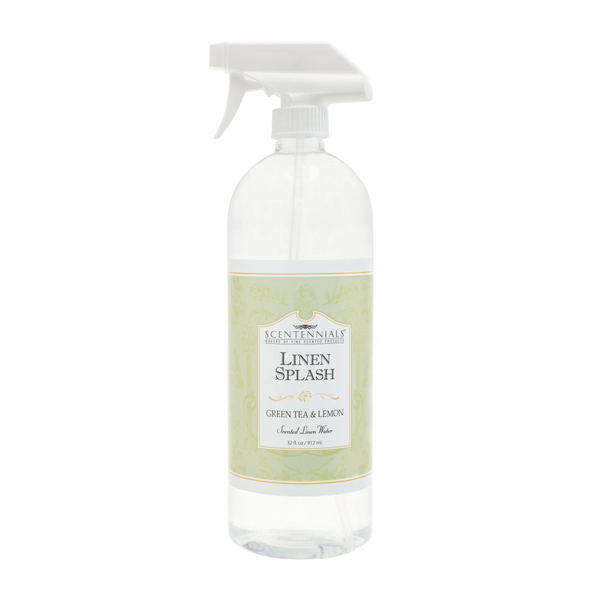 Green Tea & Lemon Linen Spray (32oz)