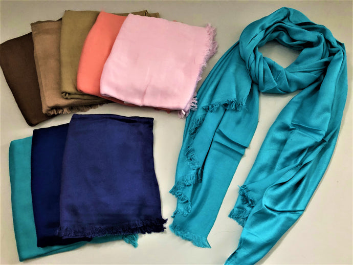 Satin Finish Pashmina's