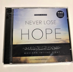 Never lose Hope CD