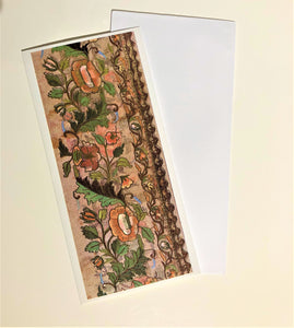 Turkish Embroidery Print Cards