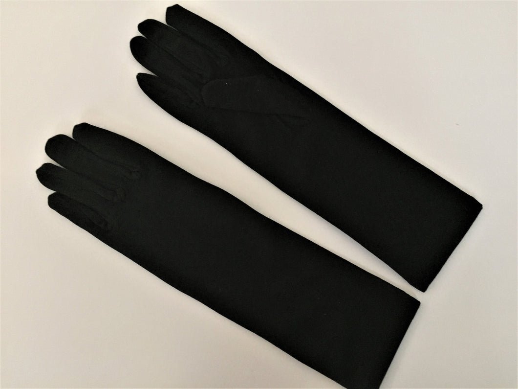 Black Hijab Gloves