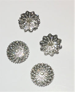 Beautiful Large Crystal Magnetic Hijab Pins
