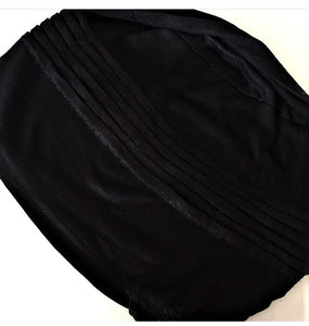 Pleated Hijab Bonnet