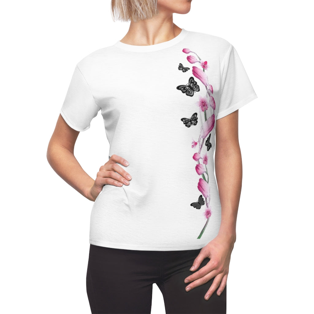 Flowers Women Tee, Flowers Women Shirt, Flowers Women Tshirt, Rose Flower Women Tee