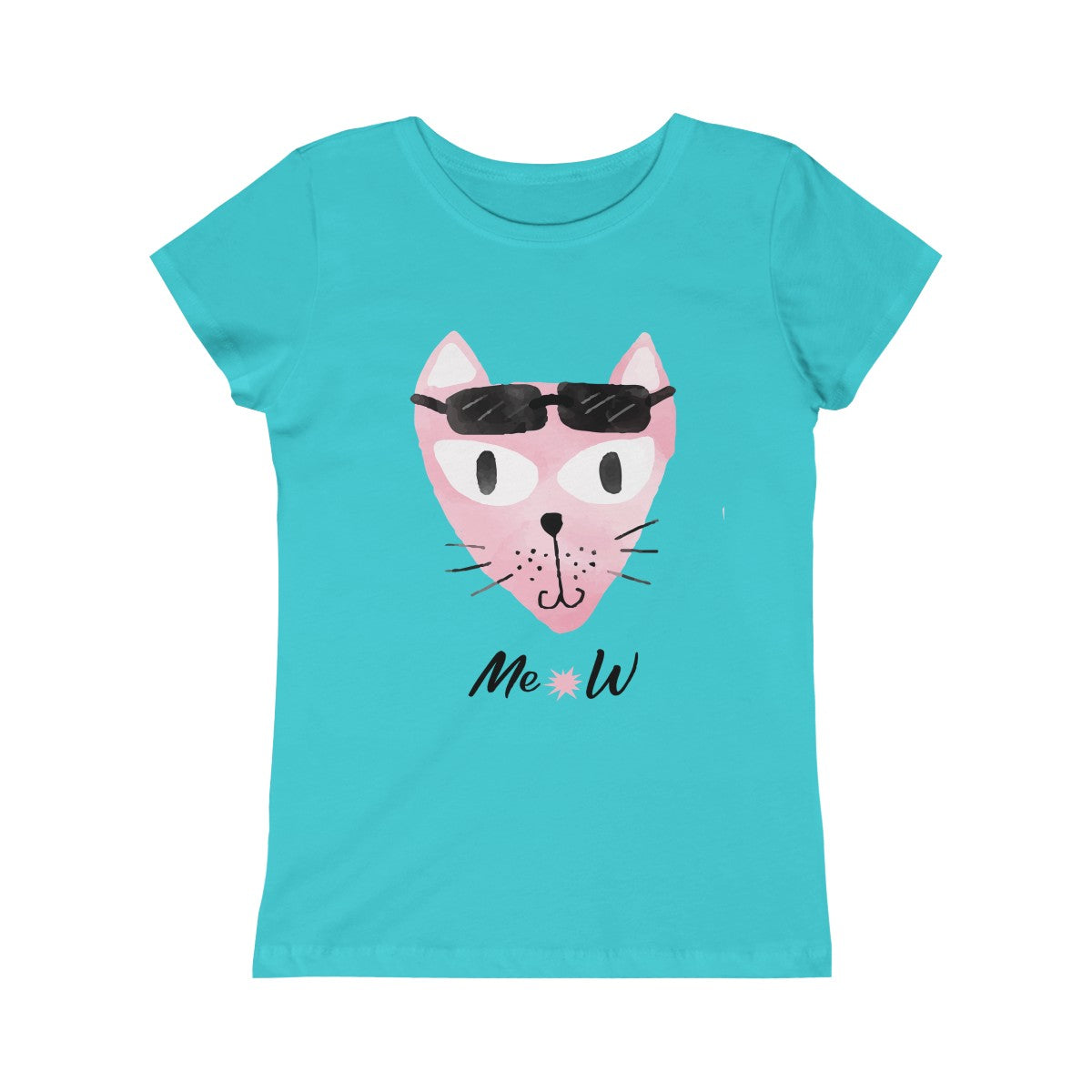 Girls Princess Tee - mysterynb