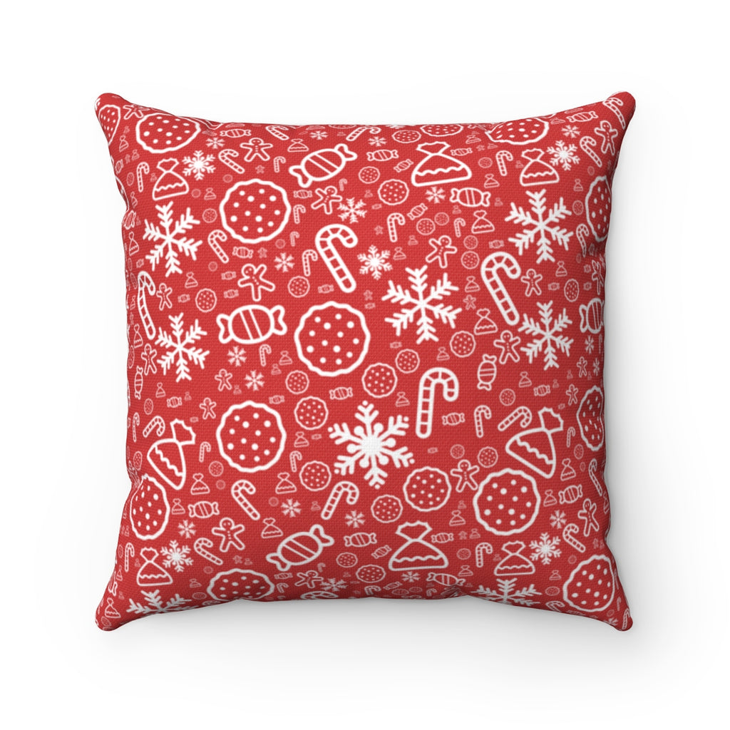 Christmas Pillow Cover, Pillow Cover, Custom Pillow Case, Pillow Covers, Abstract Pillow, Gift for Her, Christmas gifts - mysterynb