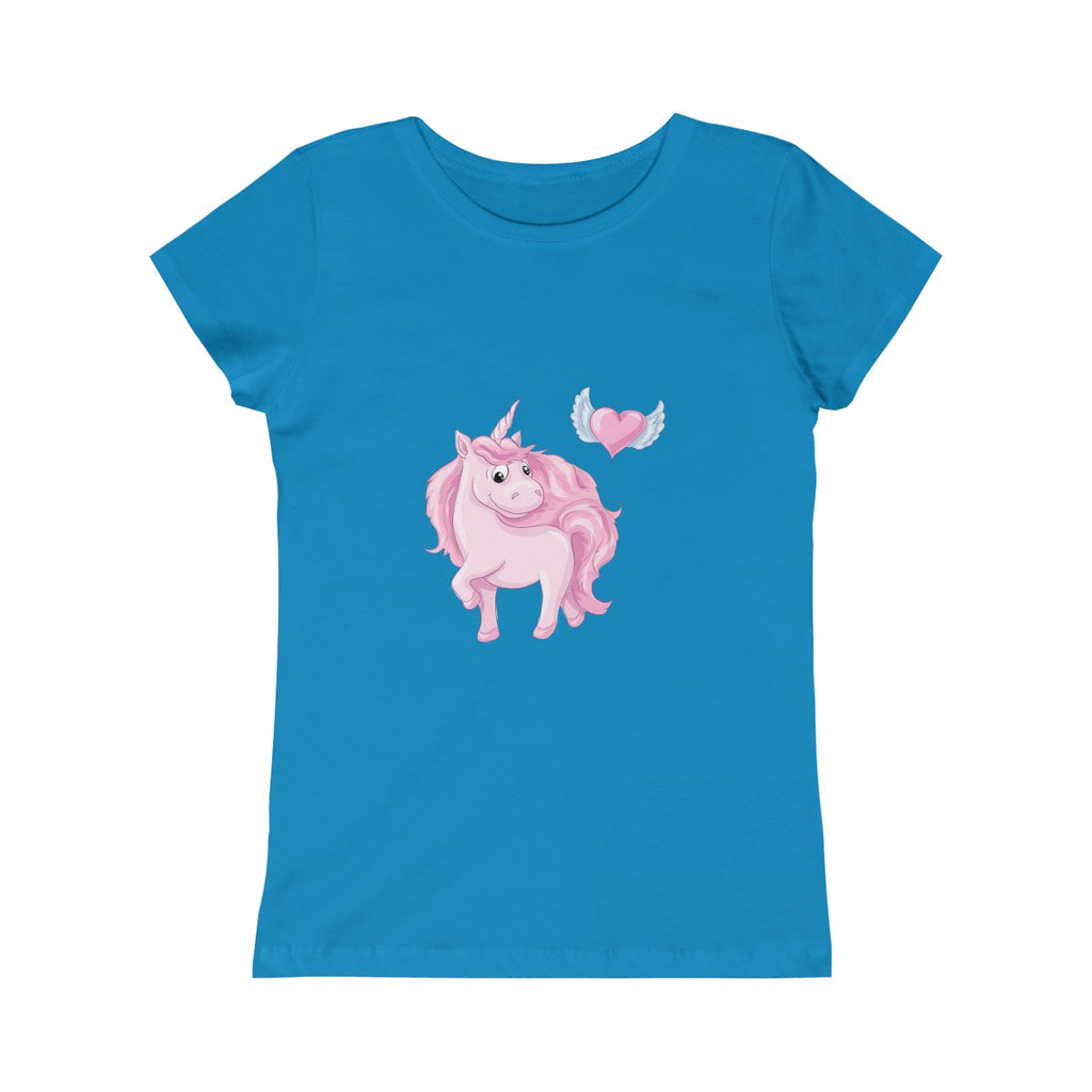 Unicorn Horse Handmade Custom Casual Girl's Youth T-Shirt - mysterynb
