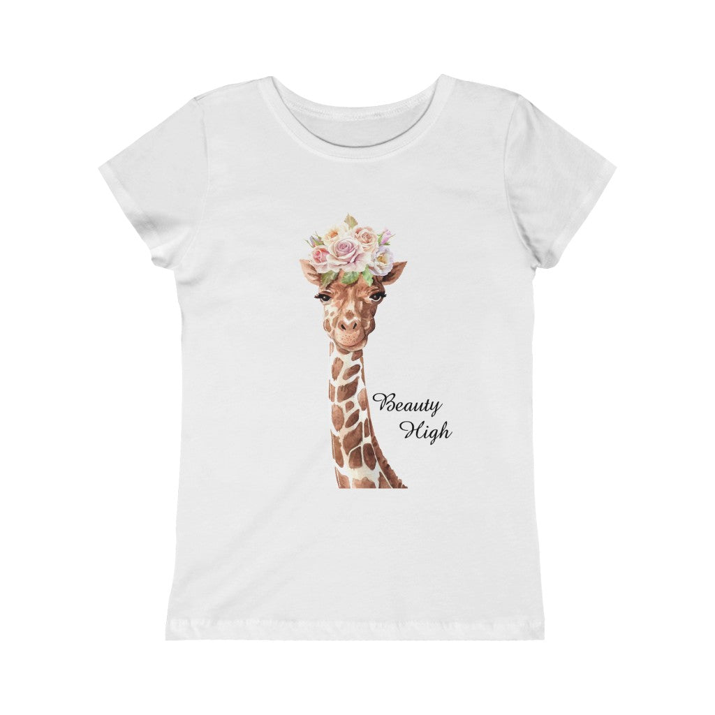 Giraffe Girl Tee, Giraffe Tshirts, Giraffe Girl Shirt, Giraffe Girl T-Shirt, Gift for Girl