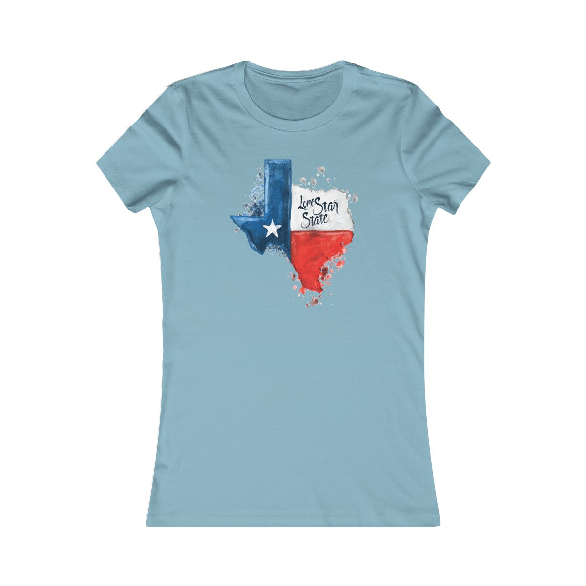 Austin Texas Lone Star State Casual Custom Women T-Shirt - mysterynb