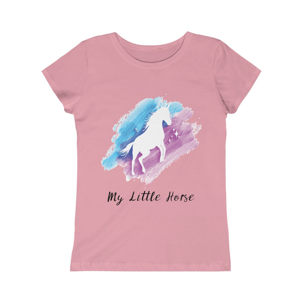 My Little Horse Casual Handmade Custom Girl's Youth T-Shirt - mysterynb