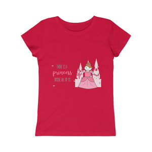 Girls Princess Tee T-shirt - mysterynb