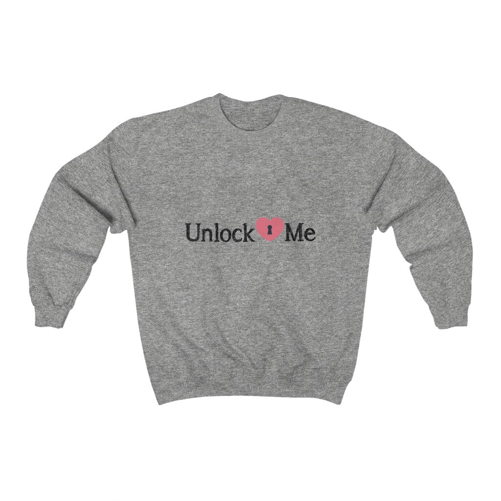 Unlock Me Women Sweatshirt, Gift for Women, Gift for Girl, Gift for Her, Back-to-School, Women''s Clothing