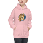 Russian Horse Unicorn Kids Hoodie Back-to-School - mysterynb