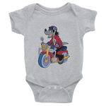 Infant Wolf Bodysuits 6-24 M | Custom Christmas Bodysuits | Motorcycle Shirts | Motorcycle Gift Shirt | Funny Christmas | Custom Gift Shirt