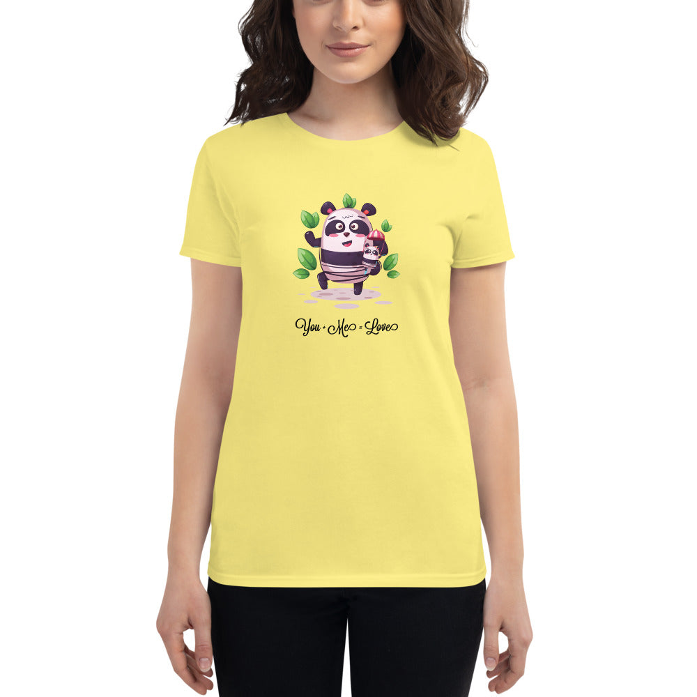 Women's Avil Panda Mother T-Shirt