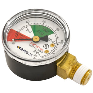 Taprite High Pressure CO2 Gas Regulator Replacement Gauge 0-2000 PSI