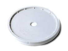 Lid for 6 Gallon Food Grade Bucket with hole includes #7 Bung