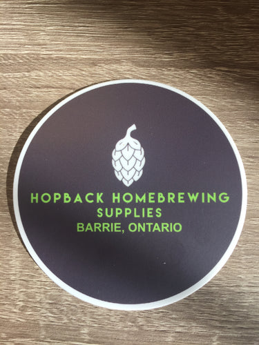 Round Hopback Sticker