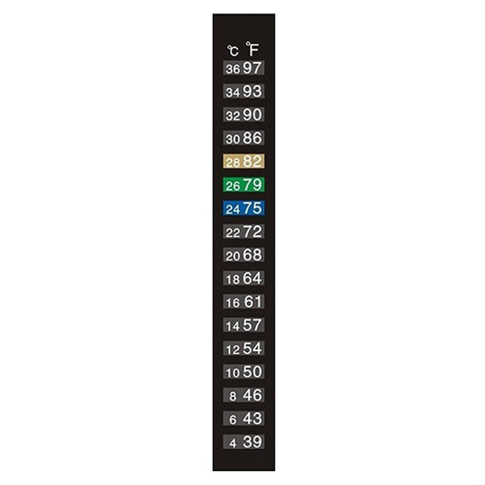 Liquid Crystal Thermometer 4-36 Degree C/F