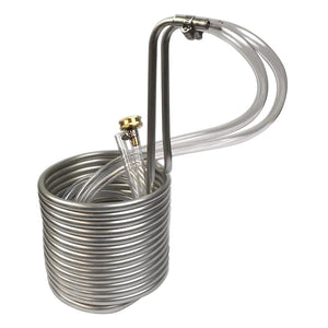 "Chiller 25"" Compact Stainless Steel 3 / 8'' OD with Tubing"