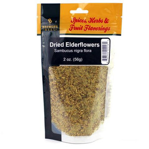 Dried Elderflowers 2oz - Brewers Best