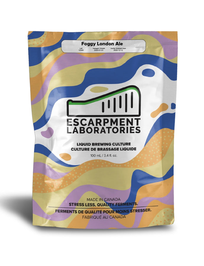 Escarpment Laboratories - Foggy London Ale Yeast