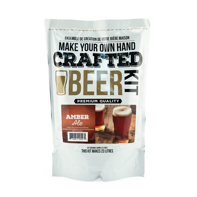 Crafted Series Beer  Amber Ale - Extract (Makes 23 Litres)