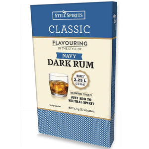 Classic Dark Navy Rum Flavouring 58ml