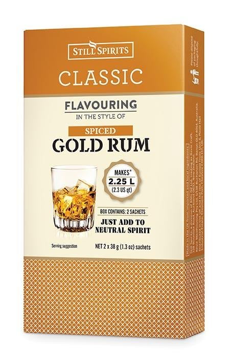 Classic Spiced Gold Rum Flavouring 58ml