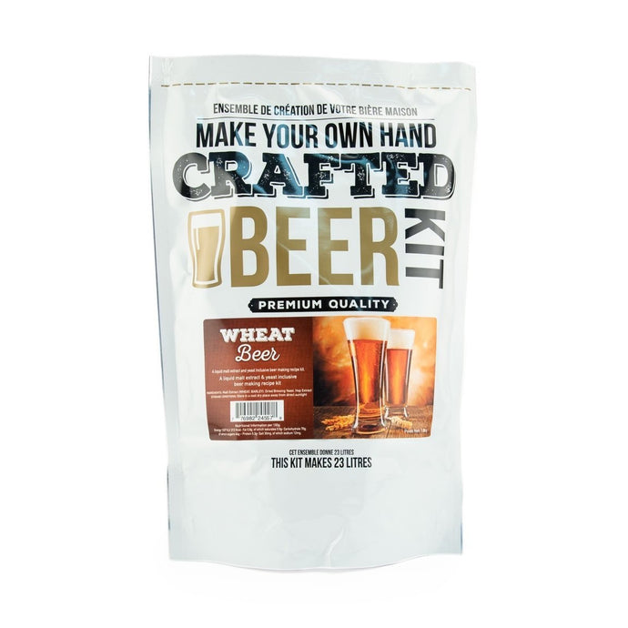 Crafted Series Beer Wheat Beer - Extract (Makes 23 Litres)