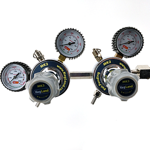 Kegland Dual Pressure CO2 Regulator