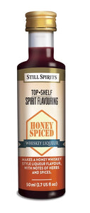 Top Shelf Honey Spiced Whiskey Liqueur - 50ml