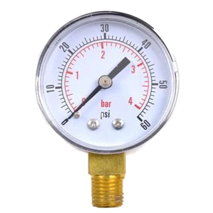 Regulator Replacement Pressure Gauge 0-60 PSI
