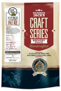 Mangrove Jack's Australian Brewer's Craft Series American Pale w Hops  Kit - Extract (Makes 23 Litres)
