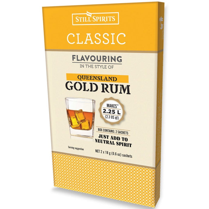 Classic Queensland Gold Rum Flavouring 58ml