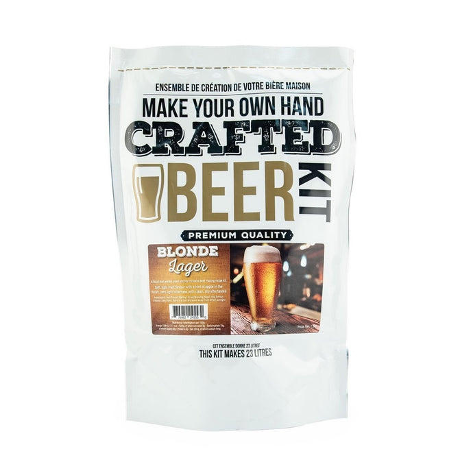 Crafted Series Beer Blonde lager - Extract (Makes 23 Litres)