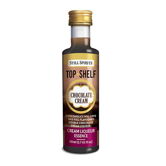 Top Shelf Chocolate Cream Liqueur - 50ml