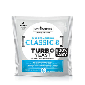 Turbo Classic 8 Yeast - Still Spirits 6.17 oz