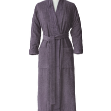 Load image into Gallery viewer, Classic Terry Spa Robe - Grey