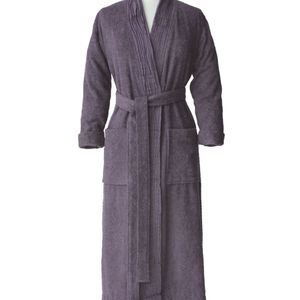 Classic Terry Spa Robe - Grey