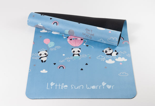 Cute Pandas Kids Yoga Mat